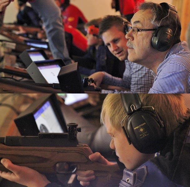 Rådes ordfører og klubbmedlemmer tester den nye teknologien